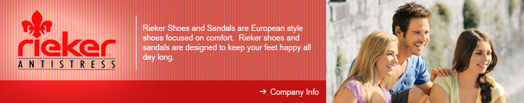 Rieker Shoes for Men and Women