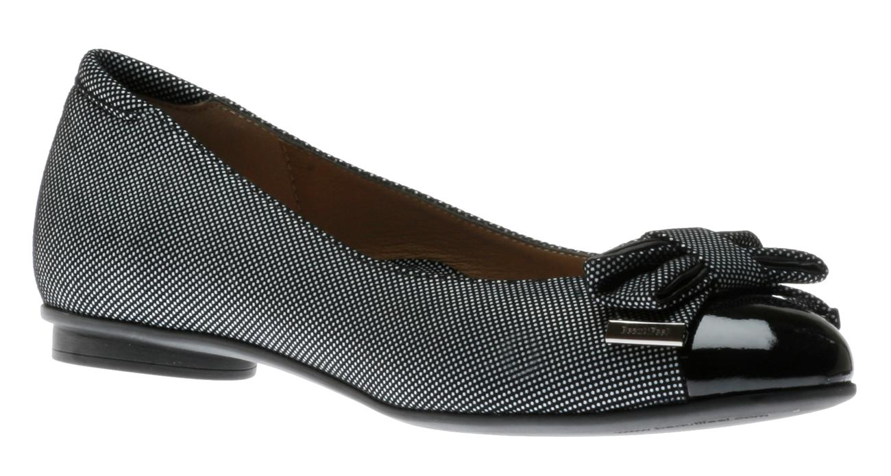 Women's Black Leather/Patent Combo BeautiFeel Ingrid Shoes