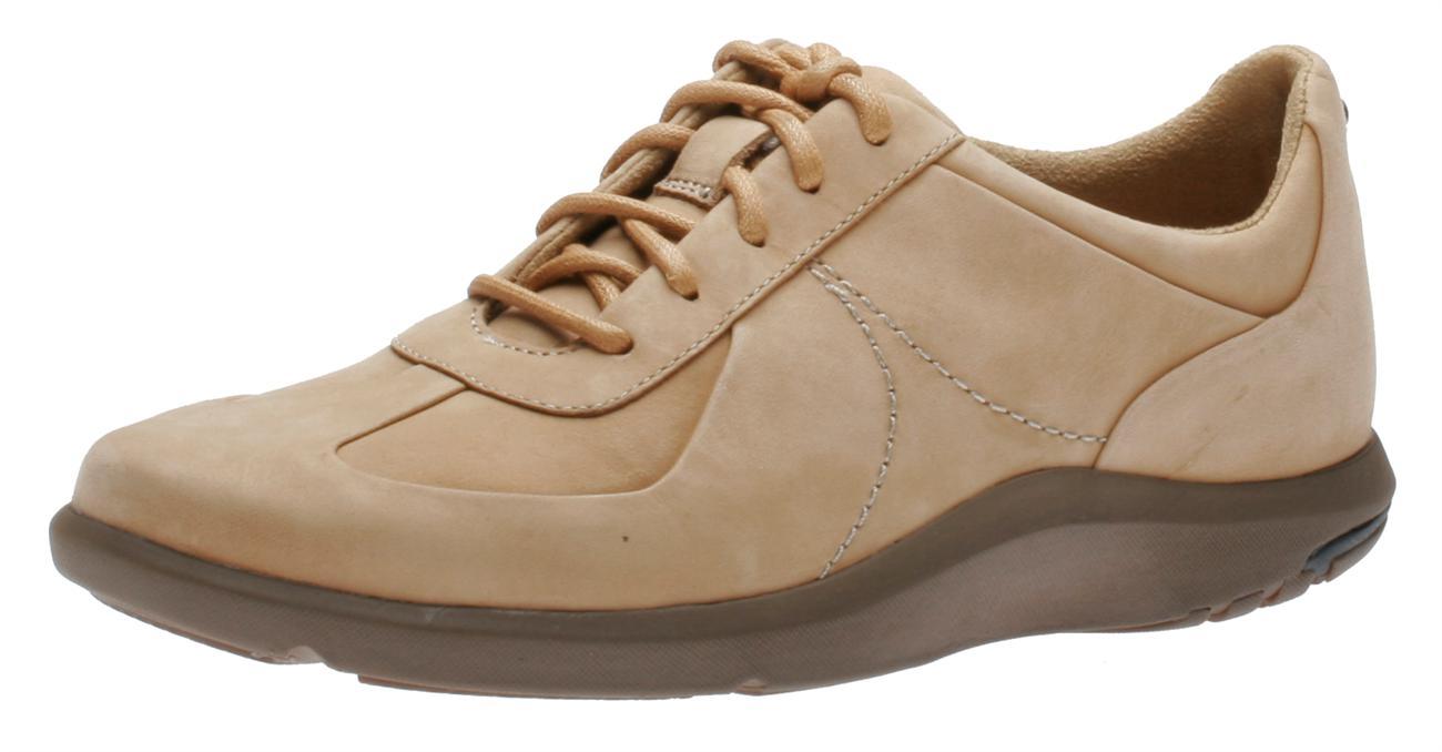 Rockport Alanda Derby Oxford Casual Shoes in Black Full Grain