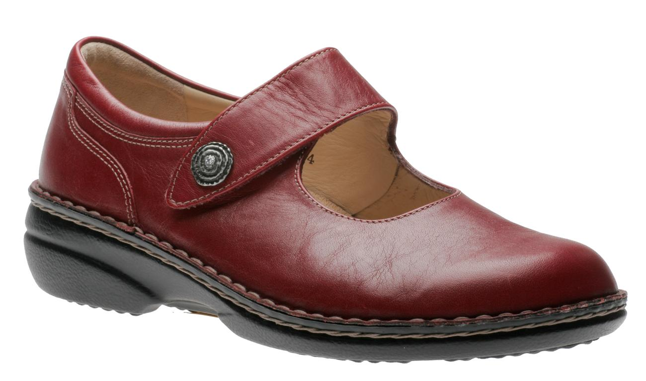 Finn Comfort Laval Red 2058256143 Women's Casual Shoes | Walking